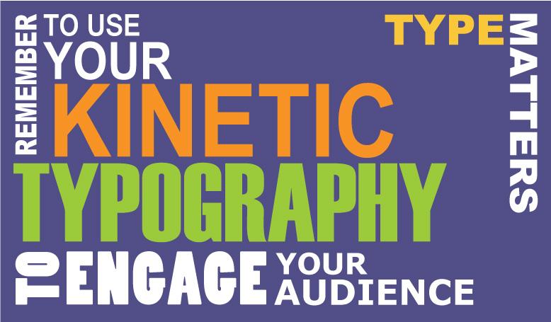 Kinetic Typography graphic