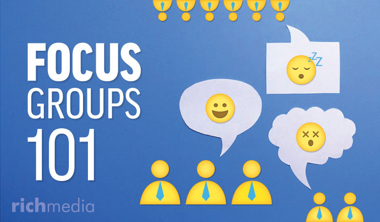 focus group expressing opinions