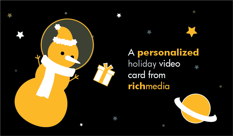 A Personalized Holiday Video Card From Rich Media