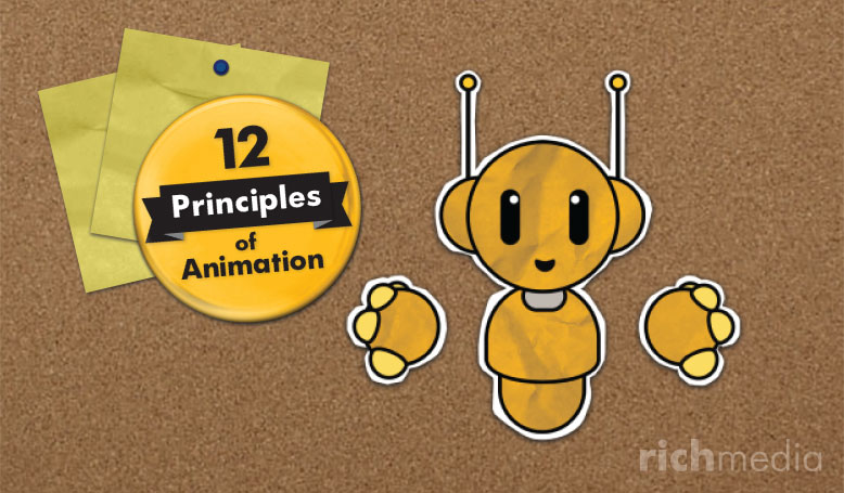 12 Principles of Animation - Robbie character