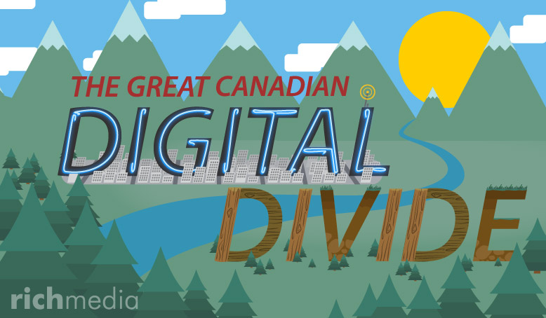 Road Trip! Discovering the Canadian digital divide in town and country