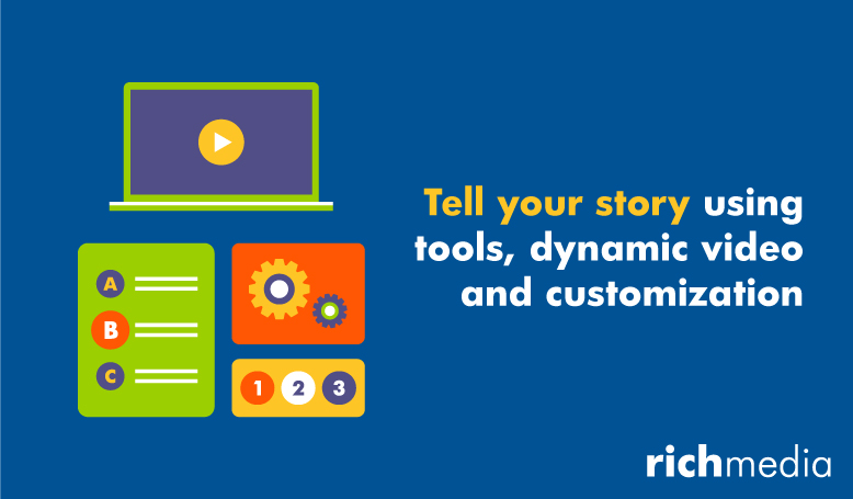 Tell Your Story Using Tools, Dynamic Video and Customization